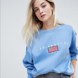 Asos Los Angeles sweater new with tags